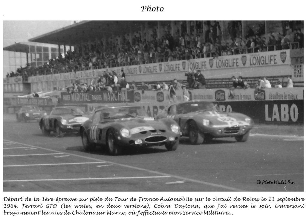 tours de france auto circuit de reims 13 septembre 1964 ferrari gto